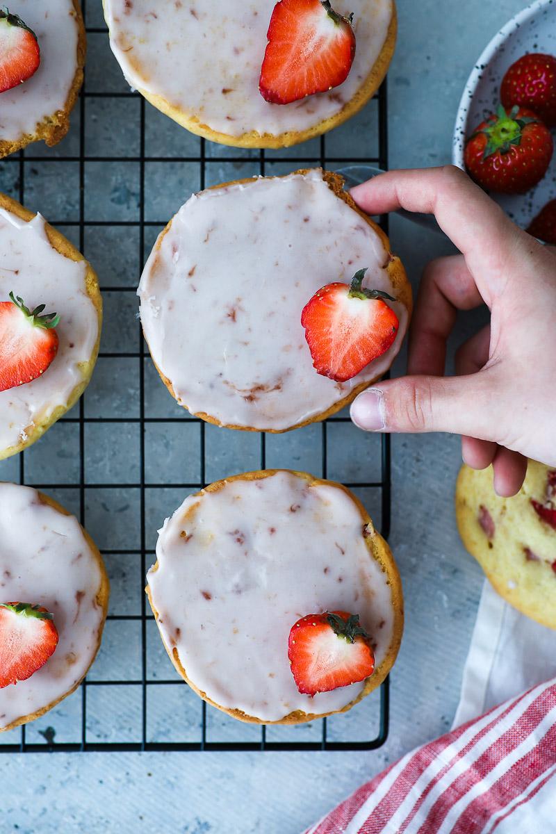 Rezept Fur Erdbeer Amerikaner Zucker Zimt Und Liebe
