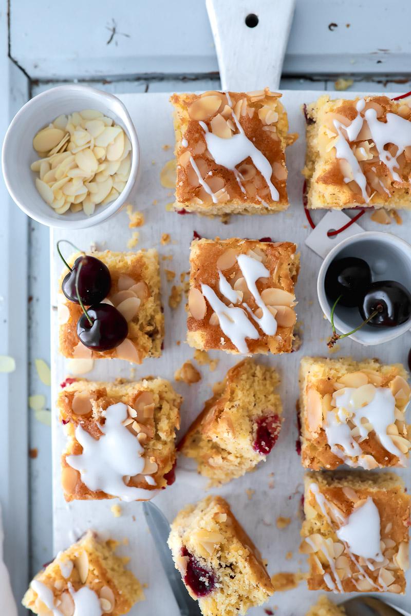 Rezept Fur Kirschkuchen Vom Blech Zucker Zimt Und Liebe