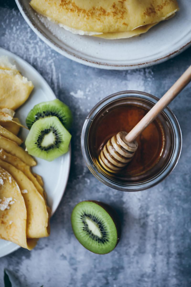 Einfaches Crepes Grundrezept Zucker Zimt Und Liebe