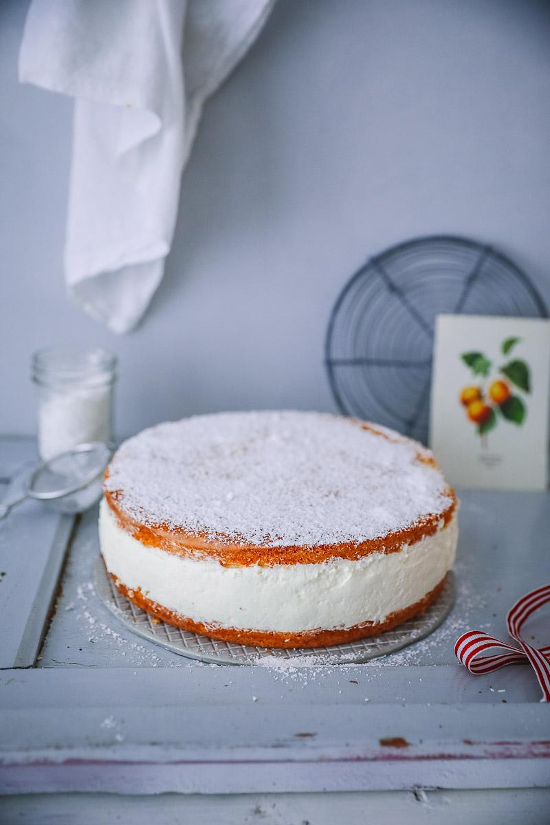 Rezept Kase Sahne Torte Kasekuchen Zucker Zimt Und Liebe