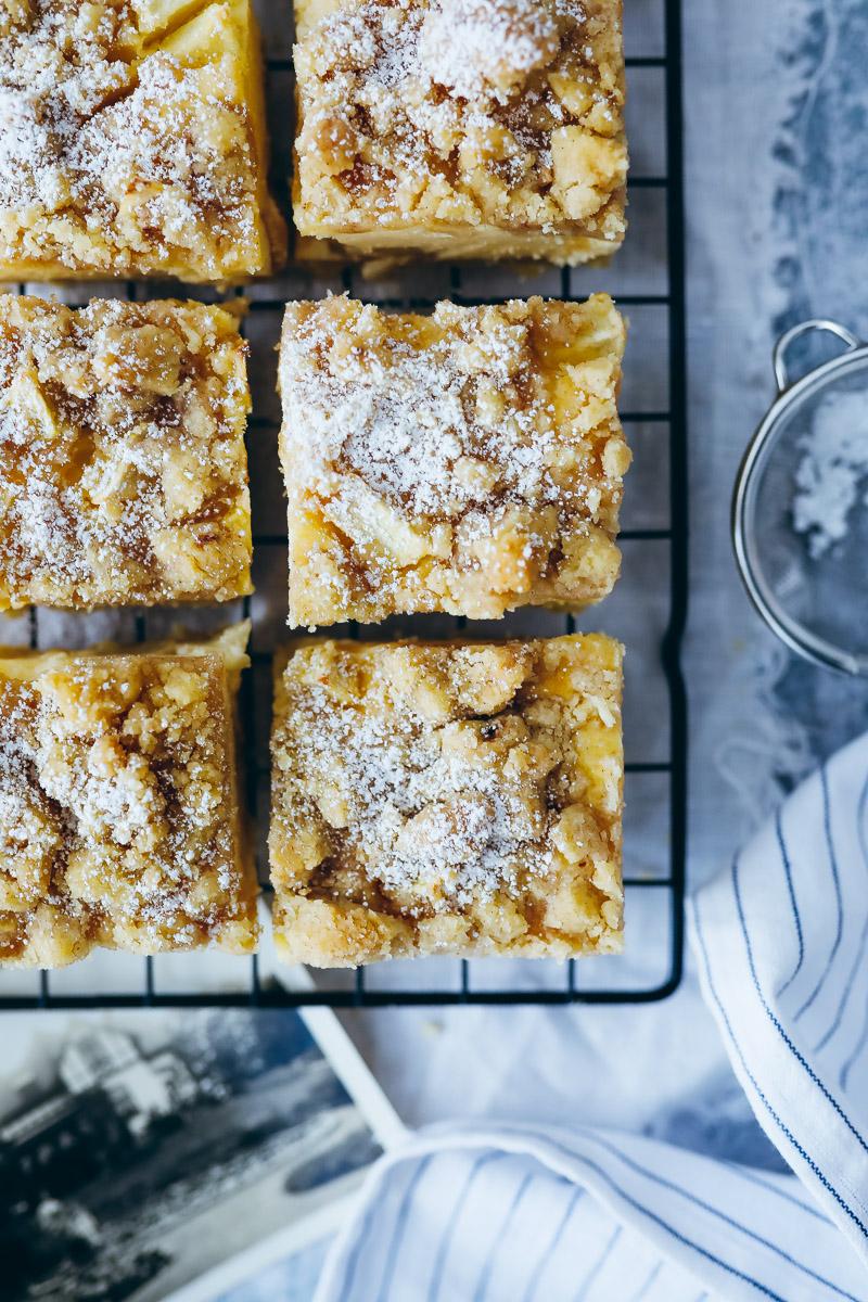Apfel Streuselkuchen Kasekuchen Zucker Zimt Und Liebe