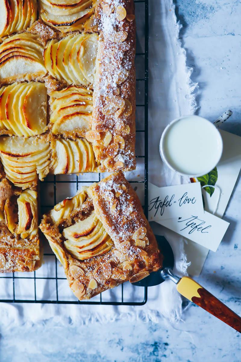 Rezept Für Einfache Apfel Frangipane Tarte Mit Mandelcreme Apple
