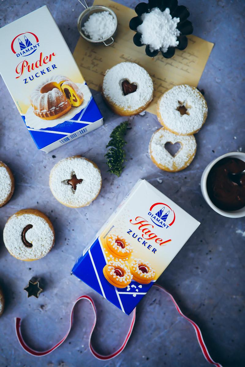 Marions Kochbuch Weihnachtsplätzchen.Spitzbuben Mit Nougatfüllung Zucker Zimt Und Liebe