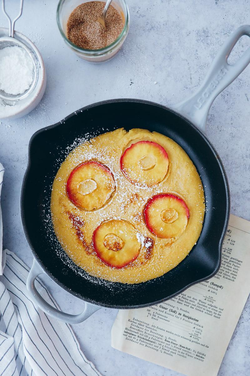 Rezept Für Apfelpfannkuchen Klassisches Pfannkuchenrezept Zucker