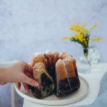 Mohn Marmorkuchen Gugelhupf poppy seed marble cake recipe einfacher marmorkuchen rührteig zuckerzimtundliebe foodblog backblog foodstyling food photography the bakefeed the feedfeed food 52 bundt cake nordicware