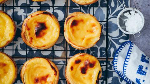 Rezept für Pasteis de Nata | Zucker, Zimt und Liebe