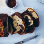 Marmorkuchen Bananenbrot Rezept marble banana bread loaf cake zuckerzimtundliebe backblog food styling food photography einfacher kuchen backblog