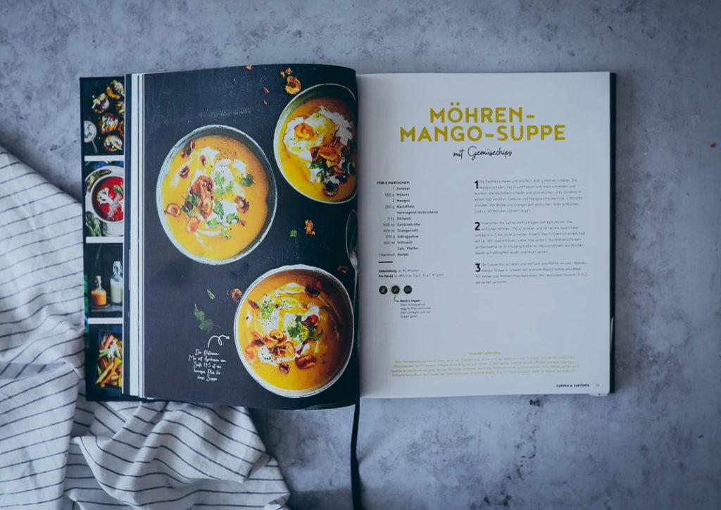 EDEKA Kochbuch alles vegetarisch möhren mango suppe