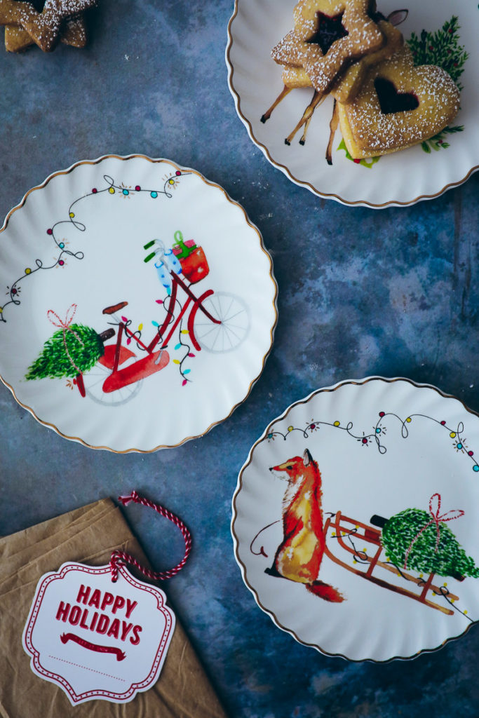 Tchibo Weihnachten weihnachtstisch weihnachtsteller zuckerzimtundliebe