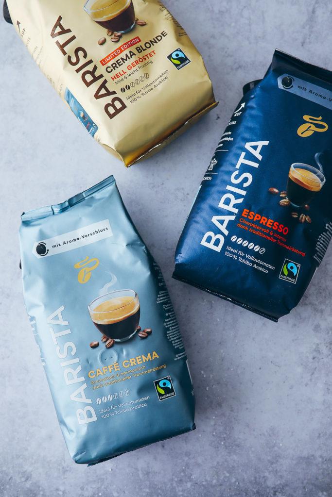 Tchibo BARISTA Kaffeebohnen Vollautomat