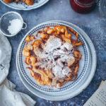 Südtirol Strauben Rezept meraner land Südtiroler Strauben funnel cake zuckerzimtundliebe meetmerano foodstyling food photography foodblog backblog